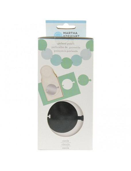 Martha Stewart Circle Garland Punch
