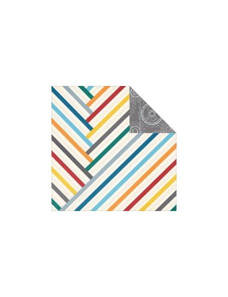 """Simple Stories Simple Sets Dad Cardstock de doble cara 12""""X12"""", no.2"""